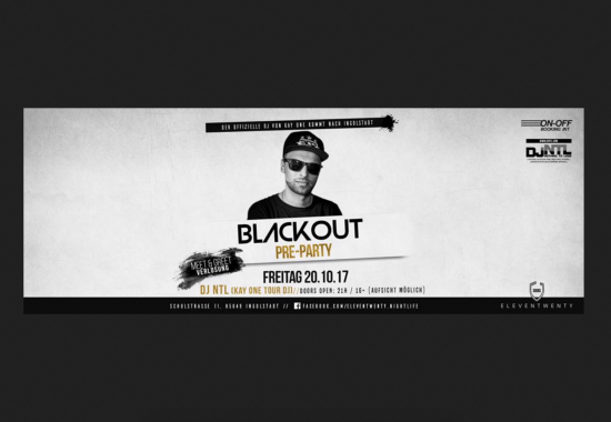 Blackout feat. DJ NTL (PRE-PARTY KAY ONE)