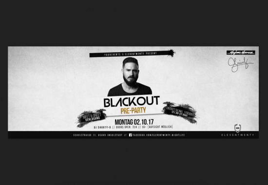 "BLACKOUT pre-Party ""SHINDY Clubshow"""