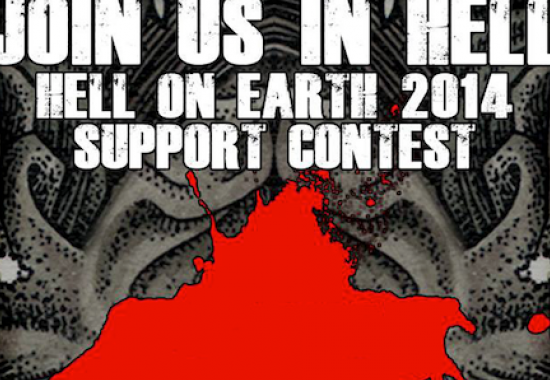 HELL ON EARTH 2014 Support-Contest