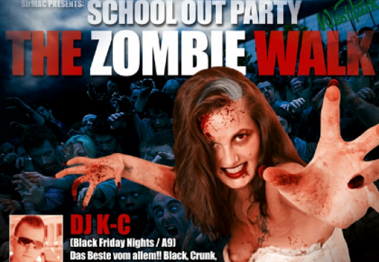 Schoolout Party - The Zombie Walk