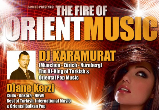 The Fire Of Orient Music